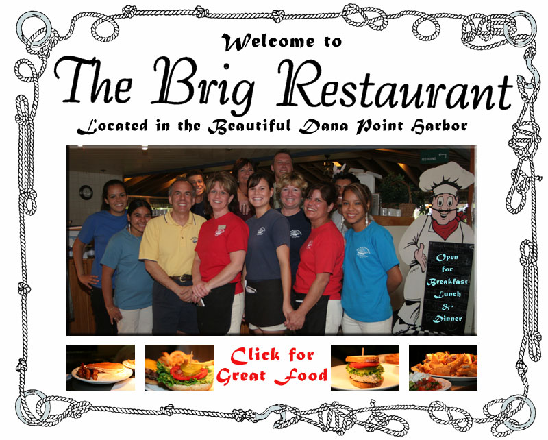 Photo of servers from The Brig Restaurant - Click to Enter this site